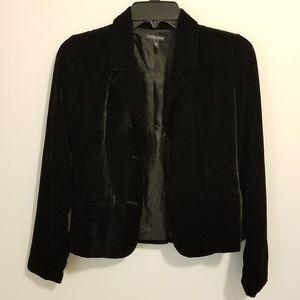 Eileen Fisher silk velvet blazer